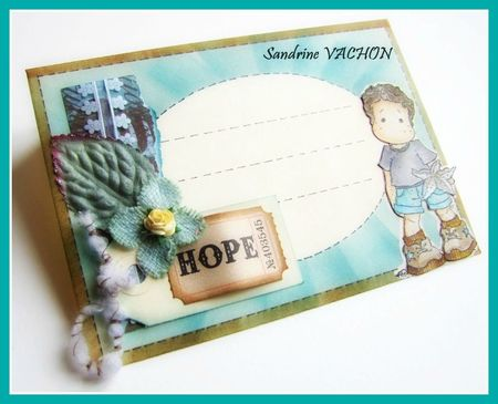 Mail Art Magnolia HOPE - 11