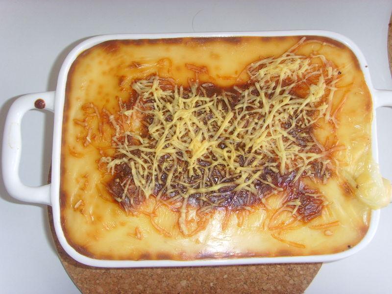 Gratin pommes de terre - poireaux