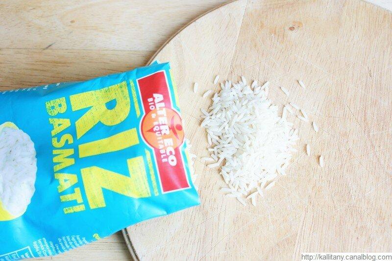 Blog culinaire Kallitany _ Recette VG riz basmati aiguillettes et moutarde (6)