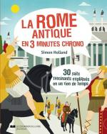 La rome antique en 3 minutes chrono couv