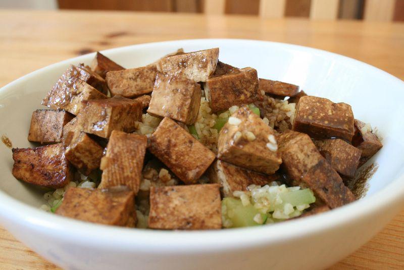 tofu la moutarde de dijon vi cuisine. Black Bedroom Furniture Sets. Home Design Ideas