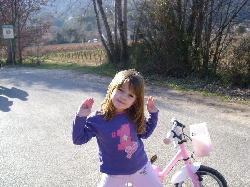 Princesse Laureen pose
