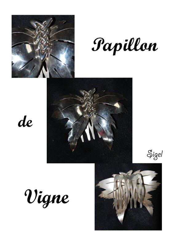 Papillon vigne prst