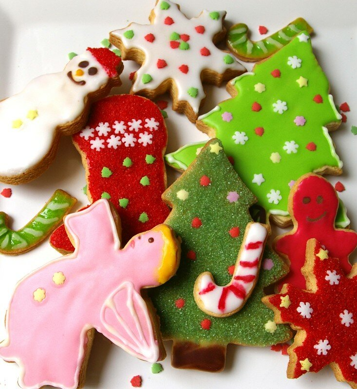 Biscuits de no l scrapcooking la cuisine cr ative et - Site americain decoration noel ...
