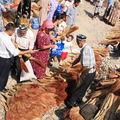 Vendeurs de balais ouzbeks