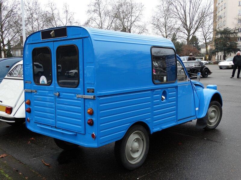 CITROËN 2CV fourgonnette type AKS400 Strasbourg (2)
