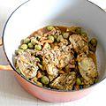 Le poulet, carottes, olives et citron confit (le zit zitoun chiken quoi!)