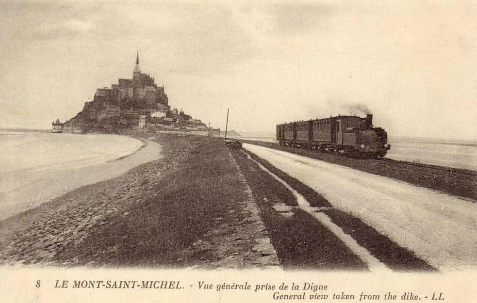 Gare du mont saint michel manche gares et trains for Au jardin st michel pontorson