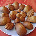 Les madeleines, petit gâteau basique mais si efficace