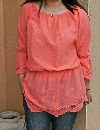Blouse_Japan_corail