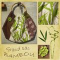 Grand sac bambou