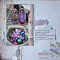Une page dans des tons pastels