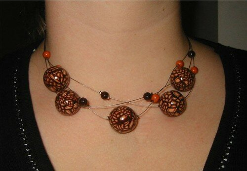 Collier chocorange