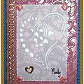 60 Coeur échange avec Magaly