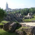 Amphithéâtre et église Saint-Eutrope