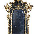 Miroir à pare closes. toscane, troisième quart du xviiie siècle