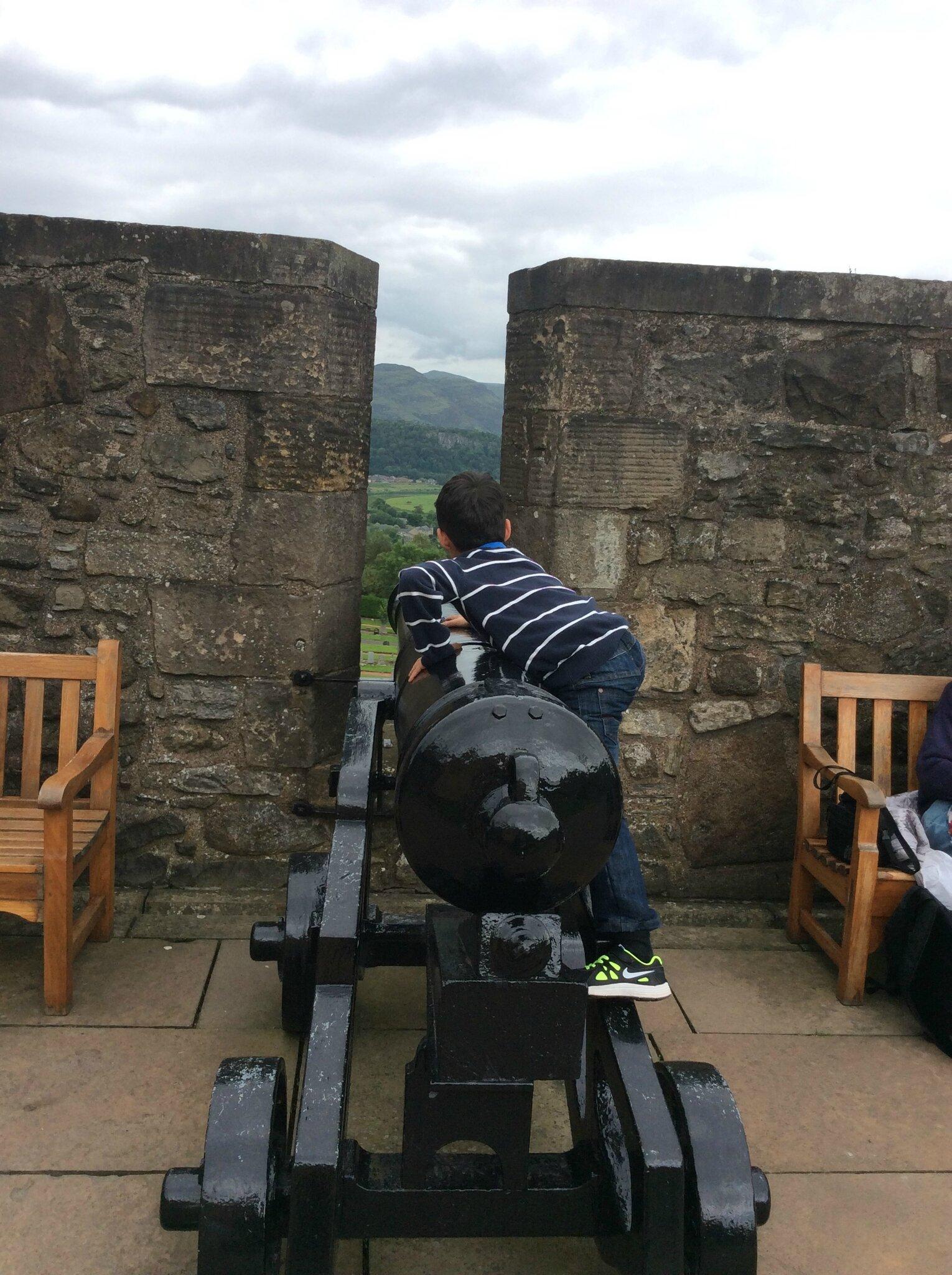 Jour 1 stirling castle for Melchior interieur