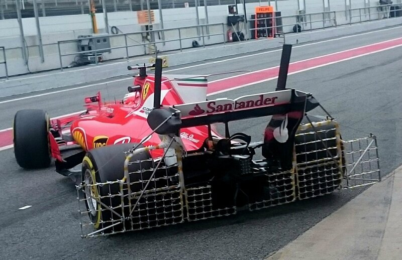 2017-Barcelone test-SF70H_Raikkonen