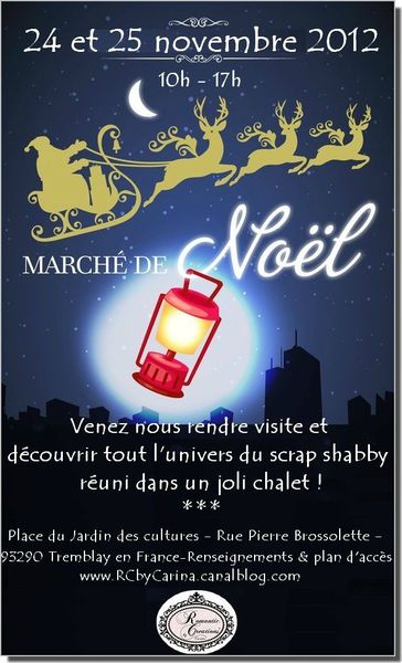Marché de noel Romantic Creations