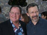 WALL•E - John Lasseter et Ed Catmull à l'avant-première mondiale du film (21_06_08) au Greek Theatre de Los Angeles