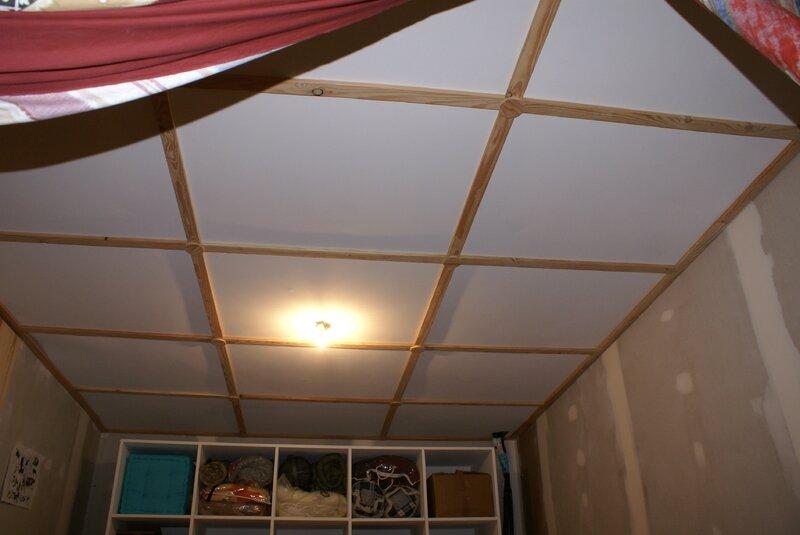 Le plafond des pi ces du haut maison faivre moulenes - Plafond du livret a la poste ...