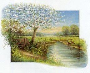 JJ5006~Le-ruisseau-au-printemps-Affiches