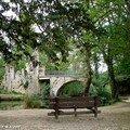 Banc au Parc Majolan à Blanquefort (33)