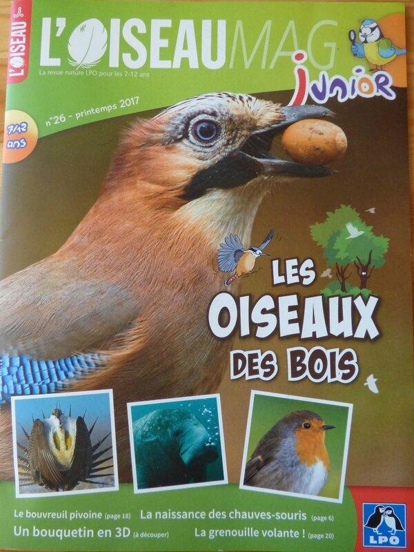 L'Oiseau Mag Jr printemps 17 (1)