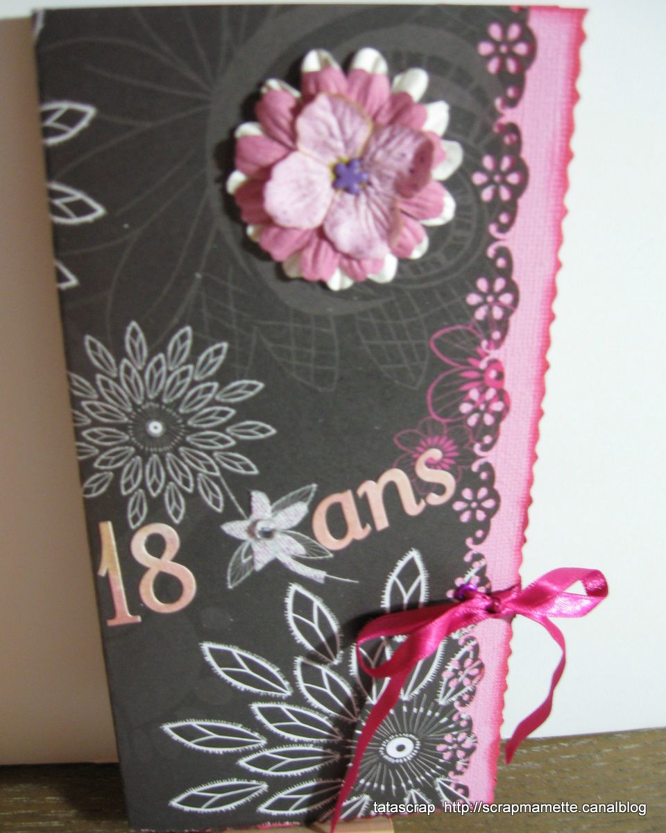 CARTE ANNIVERSAIRE NATHAN 18 ANS 1 – www.ateliers scrapbooking