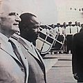Pompidou en visite 1971