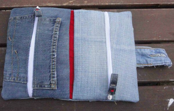 2 trousses en 1 foldingo en jean, fold and double denim pouch (4)