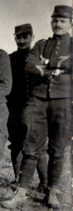Robert Tronsson maréchal des logis 43e RAC 3e groupe 9e batterie Gernicourt, Aisne 1915