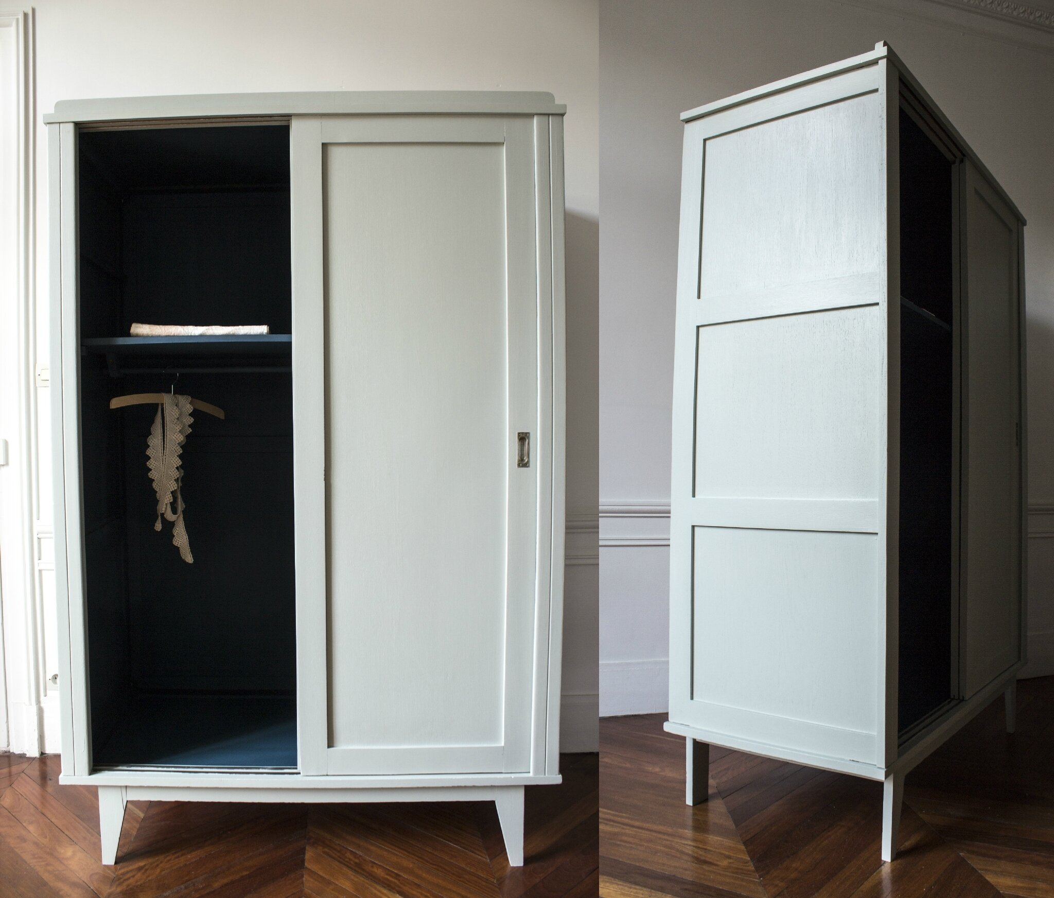 impressionnant armoire penderie chambre. Black Bedroom Furniture Sets. Home Design Ideas