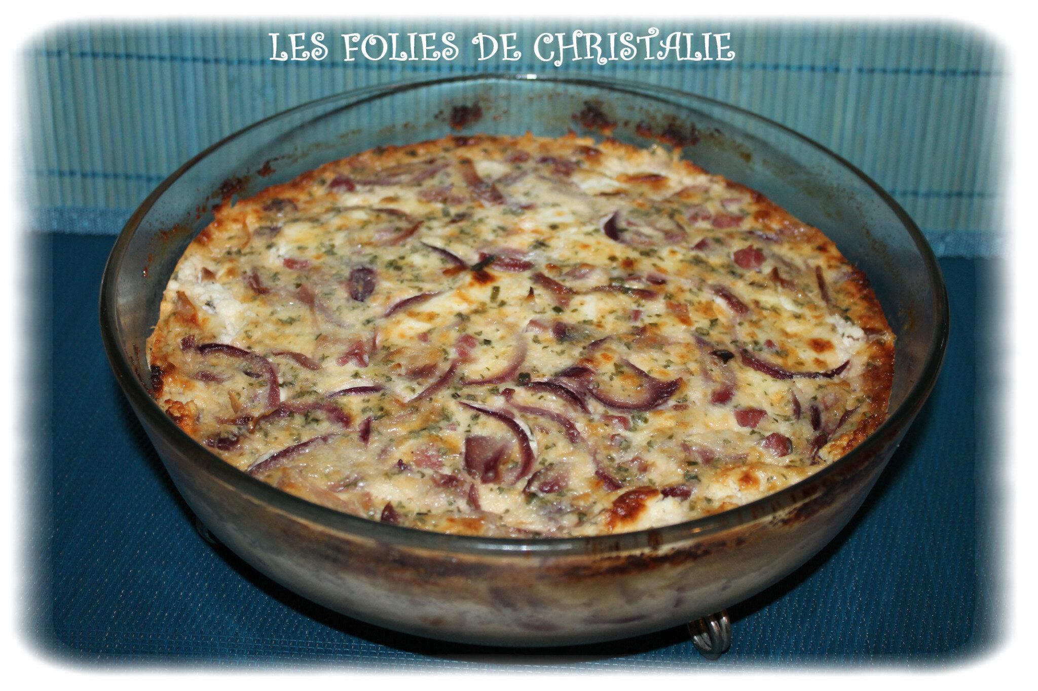 Quiche sans p te jambon oignon les folies de christalie ou quand la cuisine devient passion - Quand ramasser les oignons ...