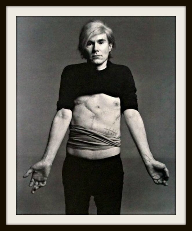 warhol richartd avedon