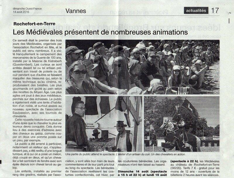 info vannes ouest france