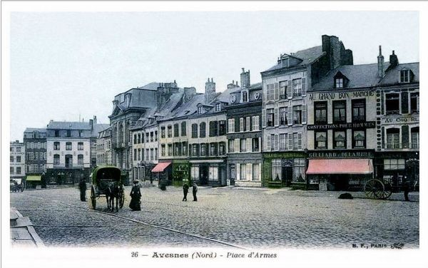 AVESNES-La Grand'Place