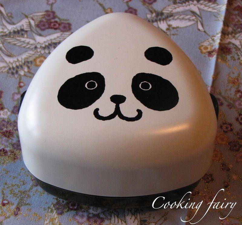 Panda onigiri box