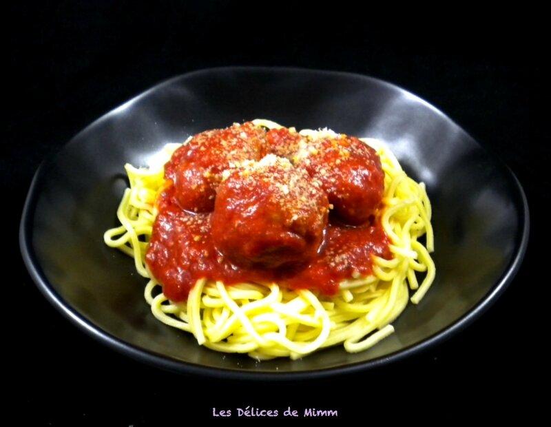 Boulettes de viande au parmesan à l'italienne