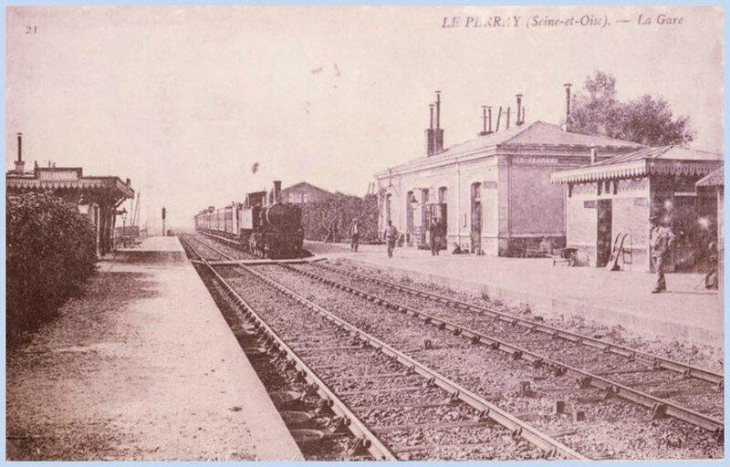 La gare du Perray