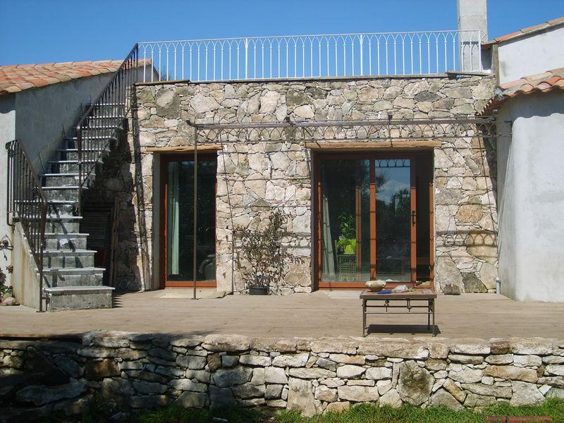 mur terrasse sionu di s. Black Bedroom Furniture Sets. Home Design Ideas