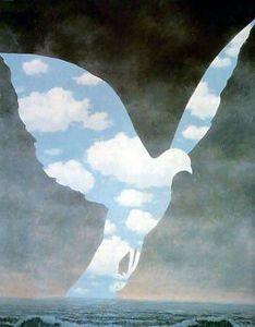 L'oiseau bleu de René Magritte