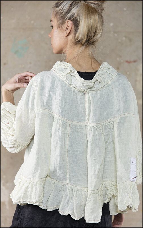 Luxie Jacket with Ruffle 168 Antique White.jpg