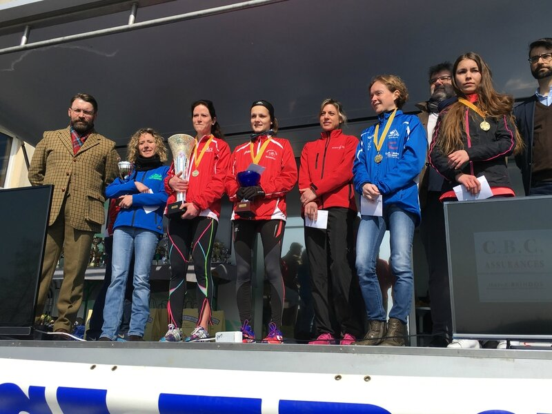 Athletic Club Avranches podium course 2016 10km femme