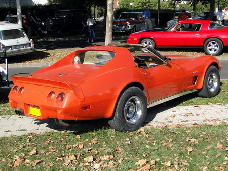 CHEVROLET Corvette Stingray Coupe 1975 1976 A la Recherche des Autos Perdues Guermantes 2009 2