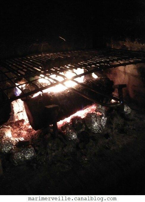 Cuisine au feu de bois - marimerveille