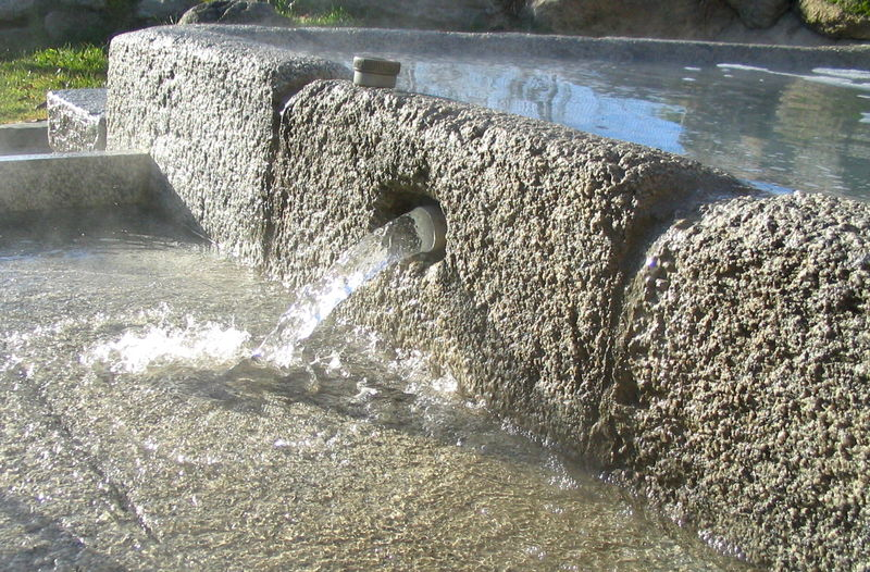 DORRES Petits bains Photo du site Bains-de-dorres.com