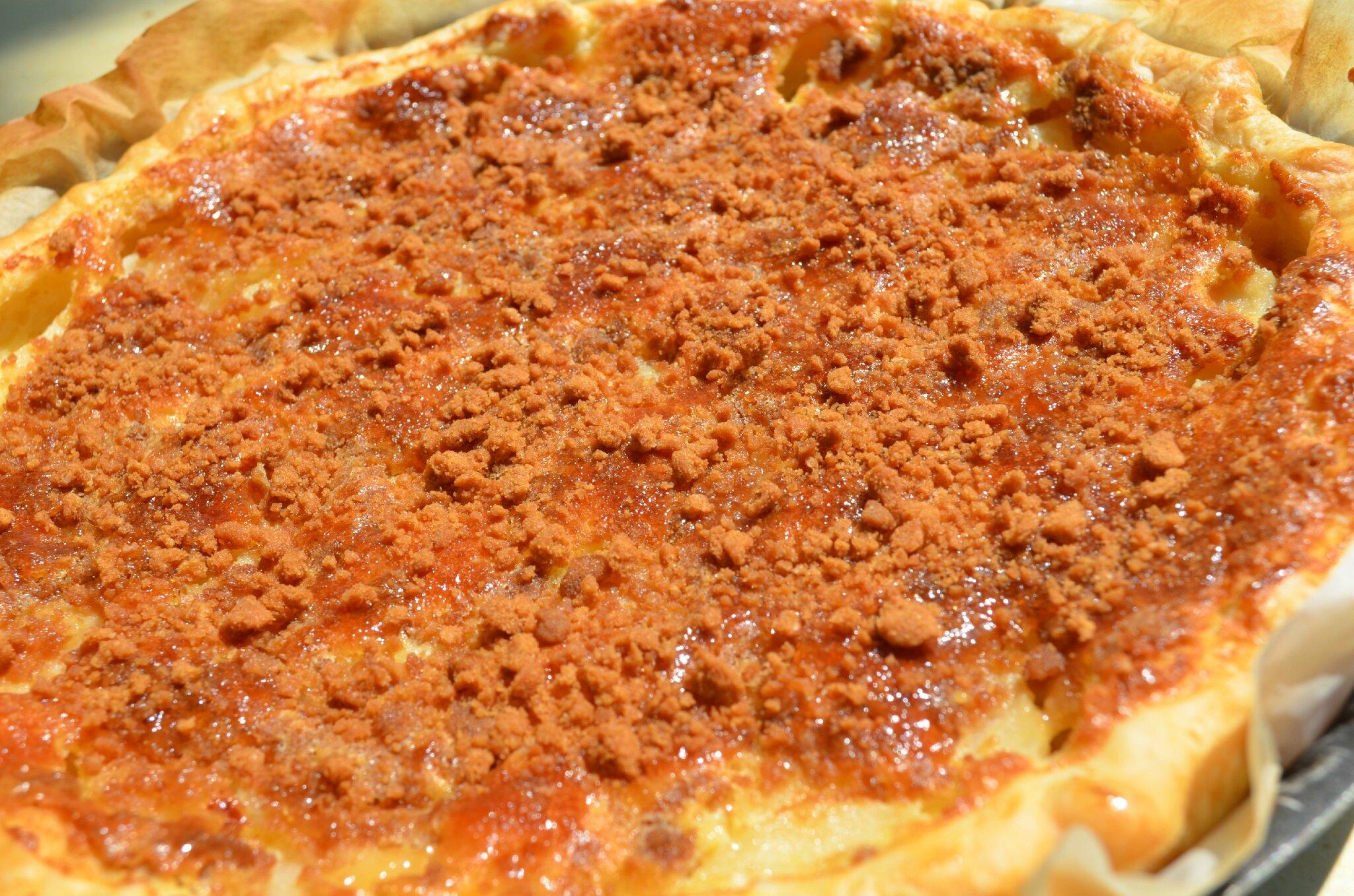 tarte aux poires et speculos