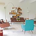 Vintage ❤ intérieur de la designer nicolette de waart