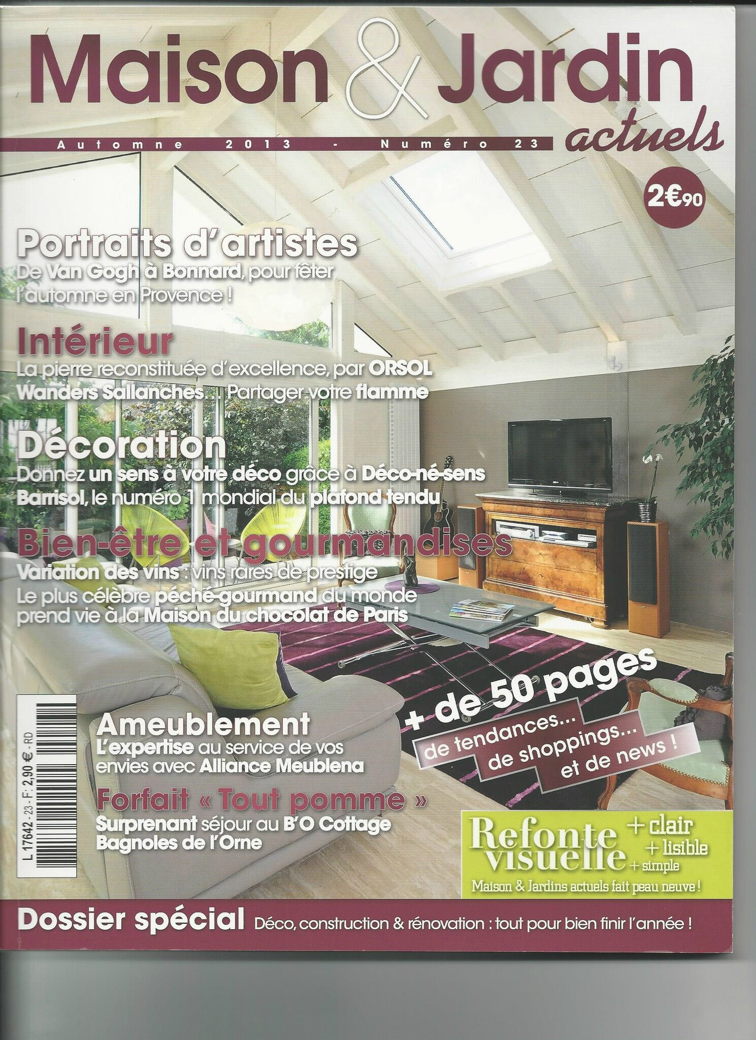 le magazine maison et jardin actuels parle de mes. Black Bedroom Furniture Sets. Home Design Ideas